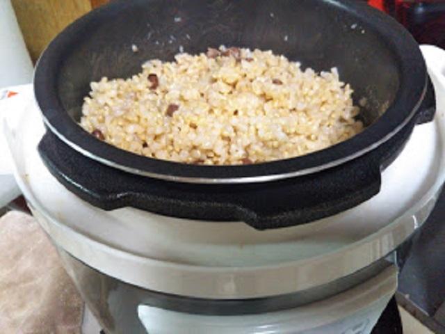 圧力鍋で炊飯器は必要ない?玄米ご飯が美味しい!