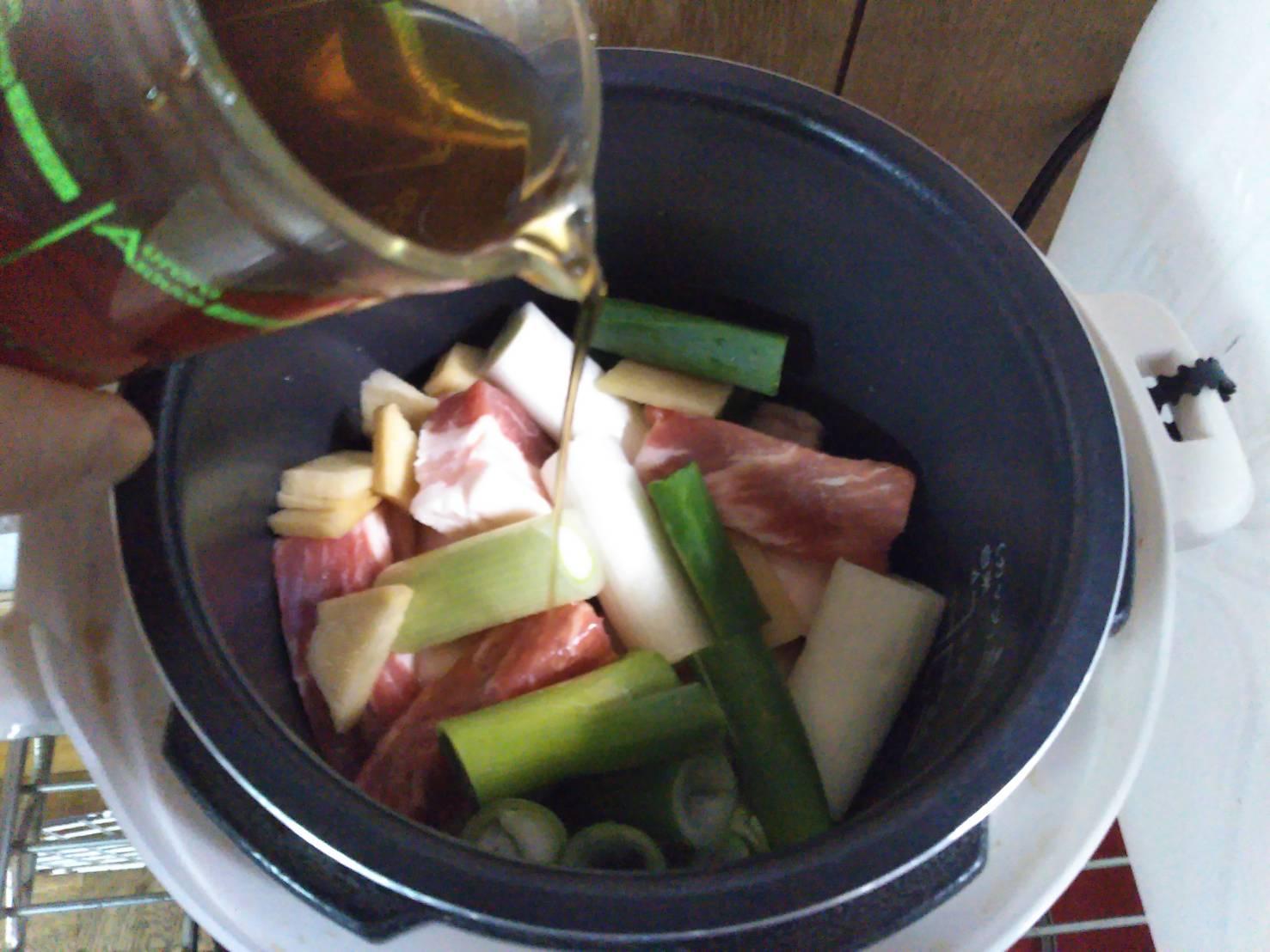 豚肉 圧力鍋